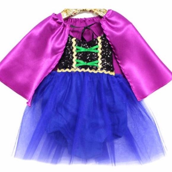 Belle Threads Baby Anna Costume 6-12 months